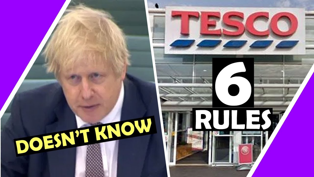 BOJO Don't Know & Tesco's 6 RULES / Hugo Talks #lockdown