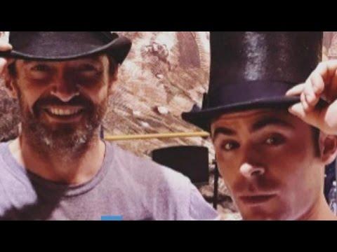 Hollywood's Top Shots: Hugh Jackman, Zac Efron, and Jlo