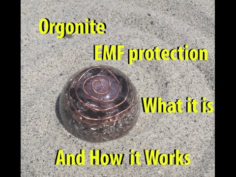 Orgonite EMF Protection what it is and how it works