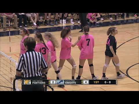 NP Girls Volleyball vs  Cheltenham 10-9-17