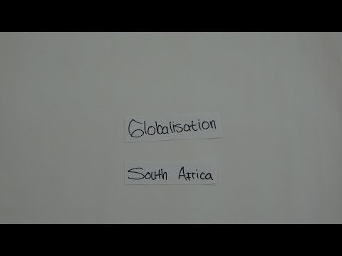 Globalization in south africa