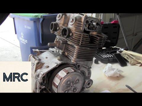 Motorcycle Engine Teardown 72 Honda Cb350 Youtube