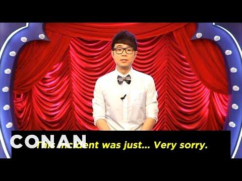 Conan Forgives Chinese Rip-Off Show 'Da Peng' - CONAN on TBS