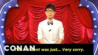 "Conan Forgives Chinese Rip-Off Show ""Da Peng"" - CONAN on TBS"