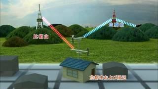 2010年夏 京都比叡山に中継局追加