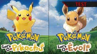 TEST | Pokémon Let's Go Pikachu et Evoli : Un bon remake ! FR