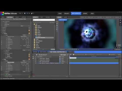 Create Doctor Who-style time tunnel VFX