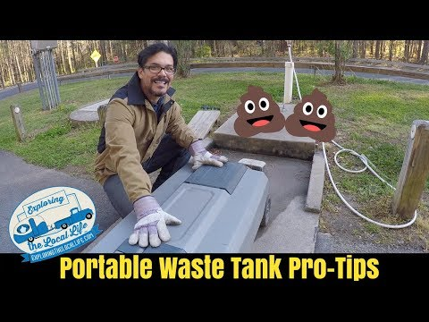 Honeywagon Pro-Tips - How to Fill and Empty Your RV Portable Waste Tank