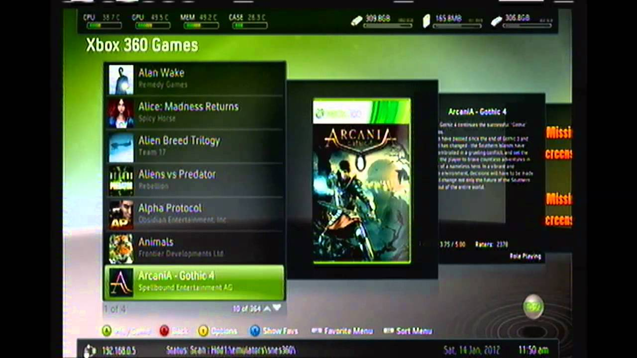 Complete Jtag Rgh Xbox 360 With 2tb Of My Extracted Games