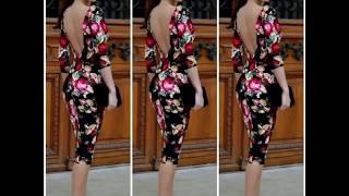 Мастер класс по моделированию платья