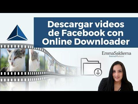 Descarga videos de Facebook con Online Downloader