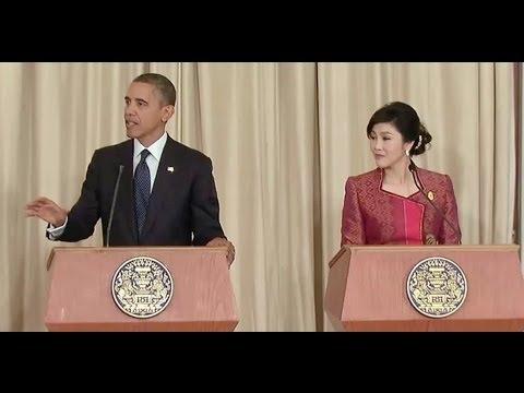 President Obama & Prime Minister Shinawatra Joint Press Conference