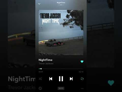 Trevor Jackson- night time