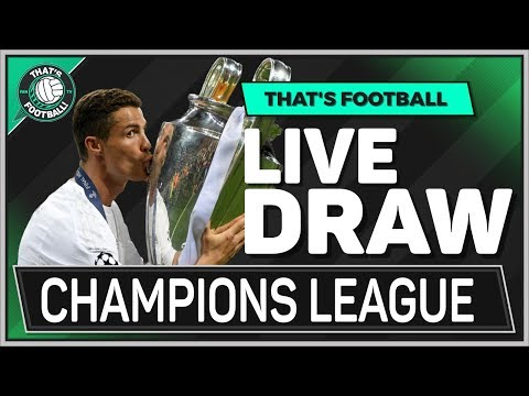 UEFA Champions League LIVE Semi Final Draw Watchalong
