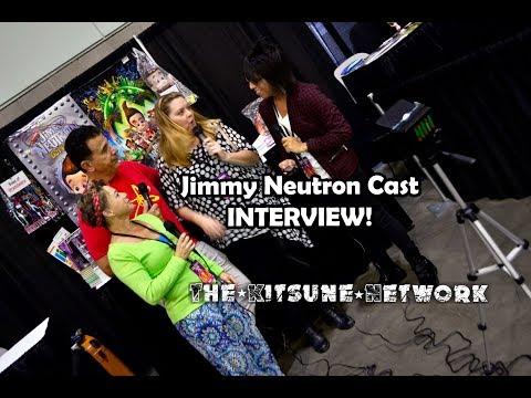 Jimmy Neutron Cast Interview | Los Angeles Comic Con 2018