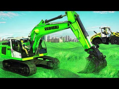 City Bridge Builder Construction Simulator Level 5 - 6 | Beko Excavator Android Games