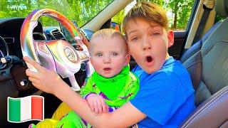 Siamo in macchina Canzoni per bambini   Cinque Bambini