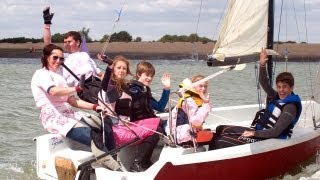 RYA Push the Boat Out - May 18-19 2013 - Try Sailing - Get back on the water - Open Days - Have a Go
