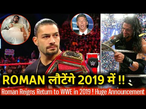Roman Return Next Year ! Return Date Announced ! WWE Raw 29th October 2018 Highlights