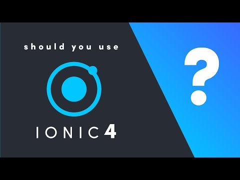 Ionic 4: Should you Build a Hybrid App?