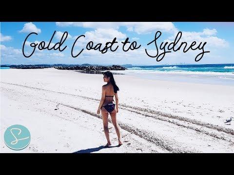 Gold Coast To Sydney Road Trip - Travel Vlog [SUMOPOCKY TRAVELS]