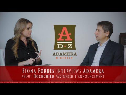 InvestmentPitch Media's Fiona Forbes interviews Mark Kolebaba, President & CEO of Adamera Minerals