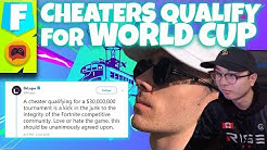 Cheaters Qualified for Fortnite World Cup Thanks to Epic Games