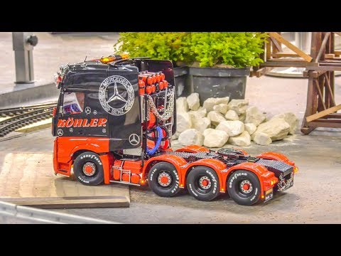 AWESOME RC Trucks in motion on a huge area!