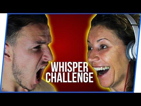 WHISPER CHALLENGE SA MAJKOM!