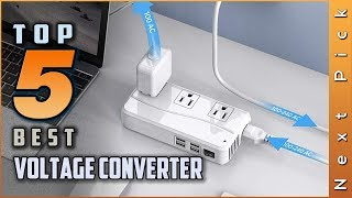 Top 5 Best Voltage Converter Review in 2020