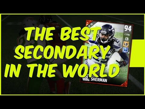 MUT 17 Gameplay | The Best Secondary In The World! Football Outsiders Richard Sherman Gameplay