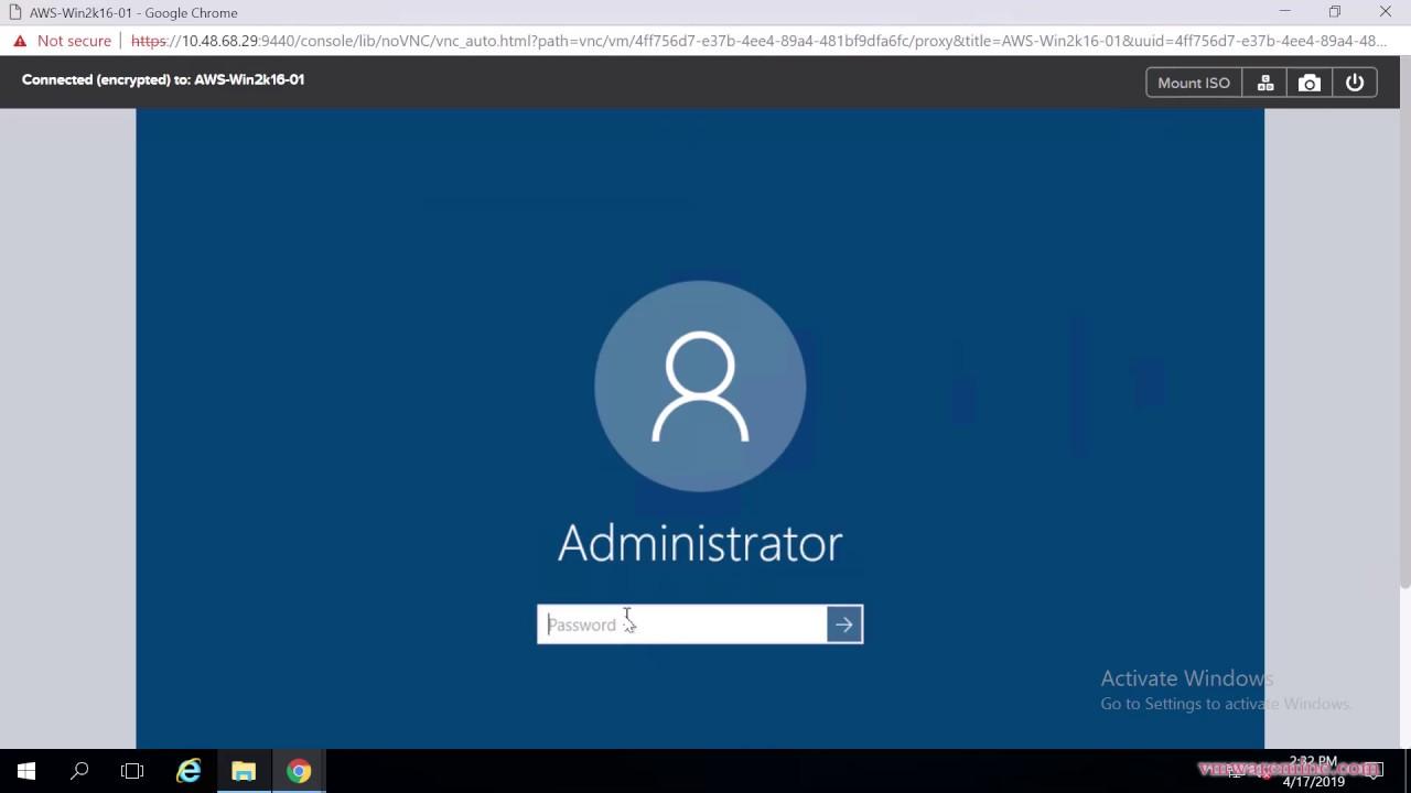 Migrate Windows 2016 server from Amazon AWS onto Nutanix AHV