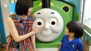 富士急トーマスランド号に乗ってきた FujiQ Thomas The Steam Engine thumbnail