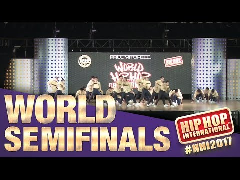 The Alliance - Philippines (MegaCrew Division) at HHI2017 Semifinals