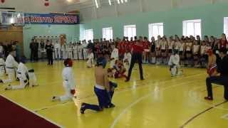 Рукопашный бой показательное выступление детей!!!