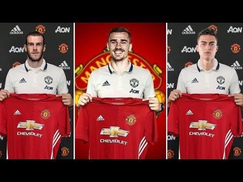Manchester United TRANSFER News - 5 Players Man Utd Need To Regain Dominance ft Bale & Sandro