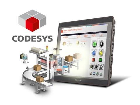 Basic CODESYS Programming w/ Weintek's cMT3090 HMI & Remote IO
