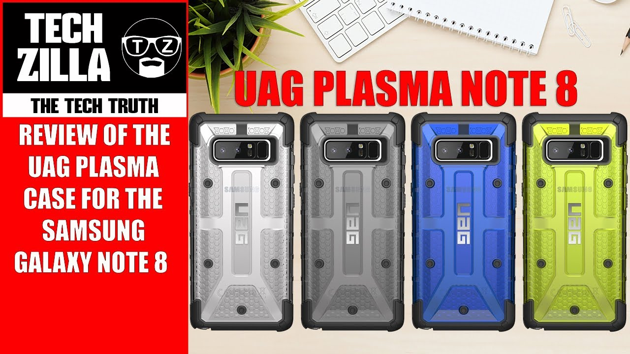 Samsung Galaxy Note 8 UAG Case Review (4K)