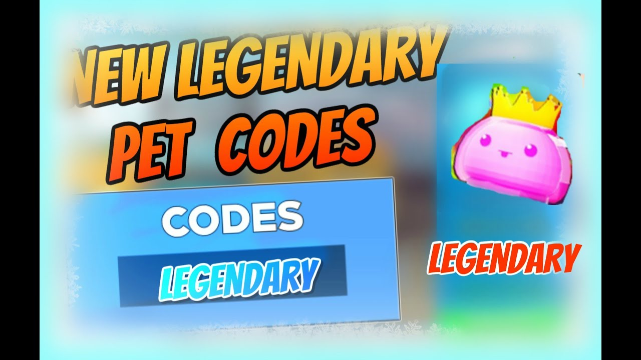 New Legendary Pet Codes Lawn Mowing Simulator Codes Update