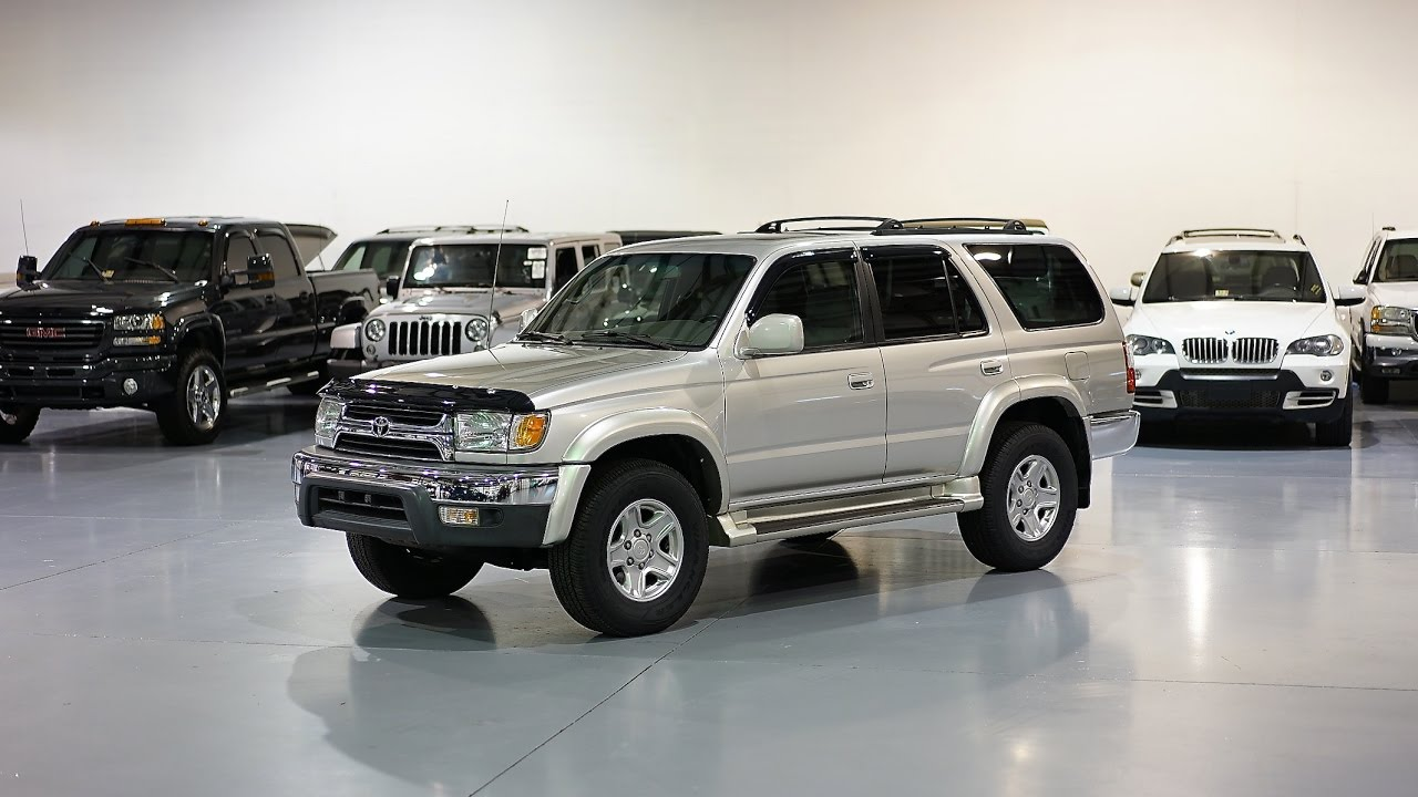 Exceptional Davis AutoSports 2001 Toyota 4Runner SR5 4x4 For Sale