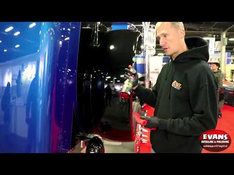 Evan's Detailing and Polishing Waterspot remover demo