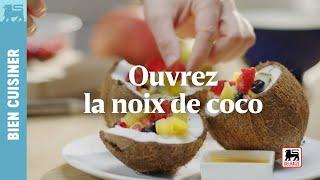Ouvrez la noix de coco
