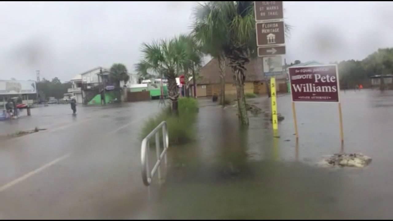 St Marks Florida Storm Surge Time Lapse Youtube