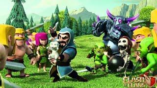 Clash of clans чекаю деревни