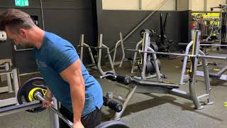 70kg (154 pounds) Biceps Barbell Curls