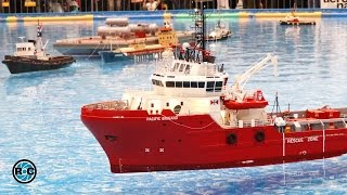 RC MODEL SCALE OFFSHORE SPECIAL BOATS & SHIPS ACTION * modell-hobby-spiel Leipzig 2016 *
