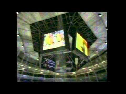Kansas-UConn CBS basketball open 1997