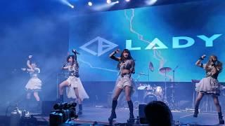 Ladybaby at Anime Matsuri in Houston song Haten Ni Raimei.