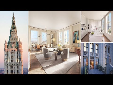 Penthouse in the iconic Woolworth Building Manhattan dubbed 'The Pinnacle' goes on sale for $110m