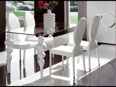 increibles diseños de mesas de comedor - YouTube